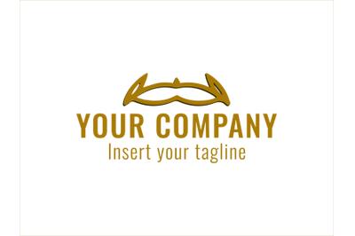 Logo Gold Vector Headdress Icon