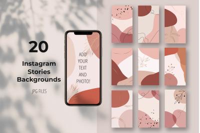 20 Instagram Stories Backgrounds