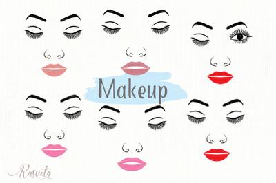 Make up svg Female Face Makeup/8