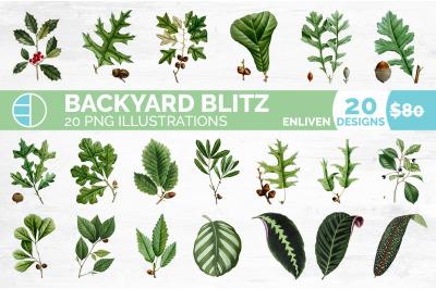 Leaves Clipart Bundle