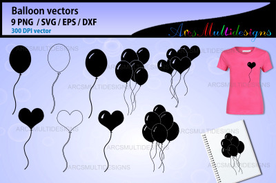 Balloon SVG graphics