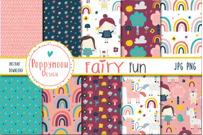 Fairy Fun paper