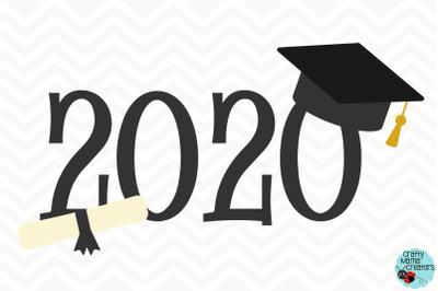 Graduation Cap Svg, 2020 Graduate Clipart