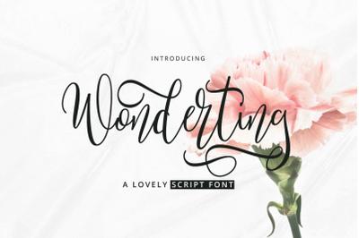Wonderting Script