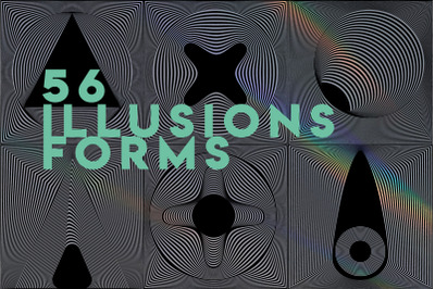 56 Illusions forms