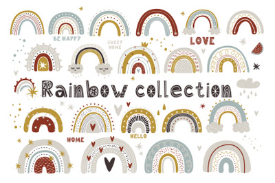 Rainbow collection