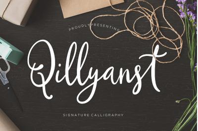 Qillyanst Signature Calligraphy