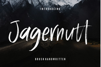 Jagernutt Brush Handwritten