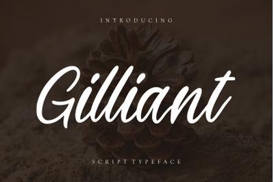 Gilliant Script Typeface