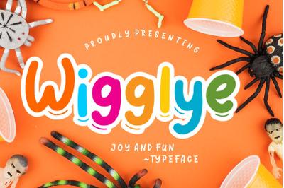 Wigglye Joy & Fun Typeface