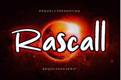 Rascall Brush Sans