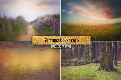 Summer Backdrops