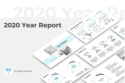2020 Year Report Keynote Presentation Template