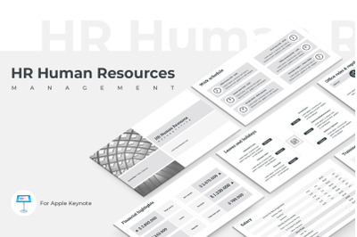HR Human Resources Keynote Presentation Template