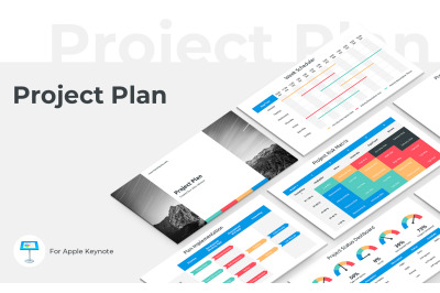 Project Plan Keynote Presentation Template