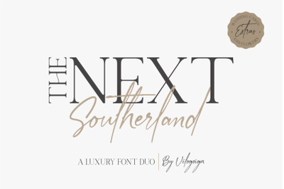 The Next Southerland Font Duo