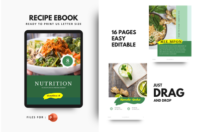 Recipes for prevention of virus ebook powerpoint template