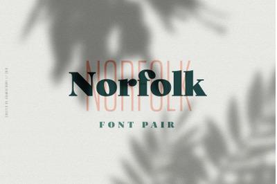 Norfolk - Font Pair
