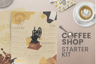 Coffee kit - Menus Logos and MORE!