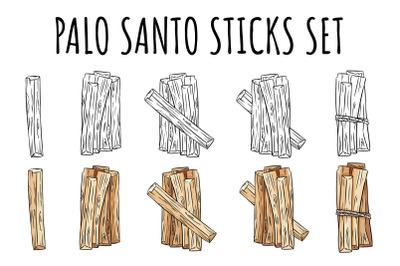 Palo Santo Sticks Set