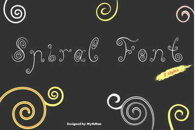 Spiral Font