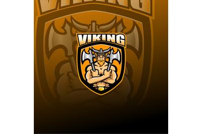 Viking Norseman esport mascot logo