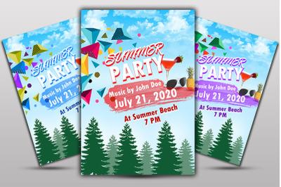 Summer PartyFlyer