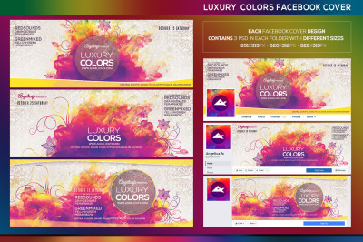Luxury Colors Facebook Event Cover
