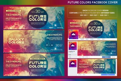 Future Colors Facebook Event Cover