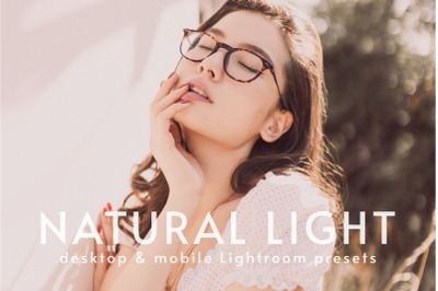 Natural Light | Desktop & Mobile Lightroom Presets