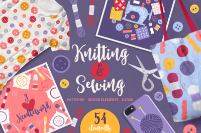 Knitting & Sewing Kit