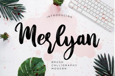 Merlyan Brush Calligraphy