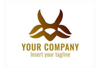 Logo Gold Sheep Horn Motif