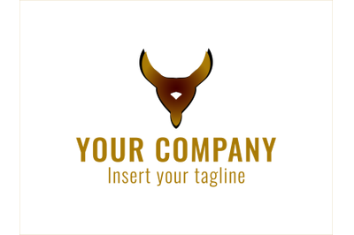 Logo Gold Horned Icon