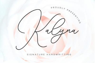 Kalyna Signature Handwriting