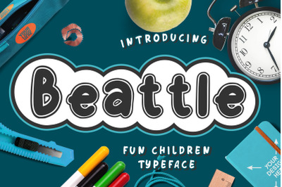 Beattle Fun Children Typeface