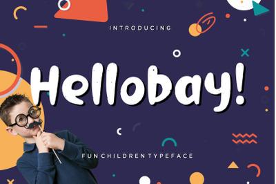Hellobay Fun Children Typeface