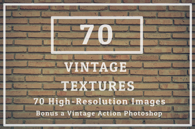 70 Texture Background Vintage Tone And 1 PS Action
