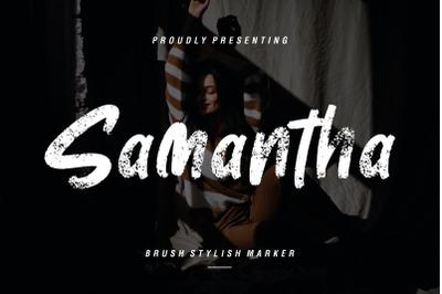 Samantha Brush Stylish Marker