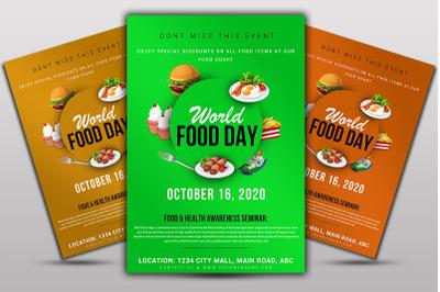 World Food Day Flyer
