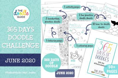 JUNE - 365 DOODLE CHALLENGE