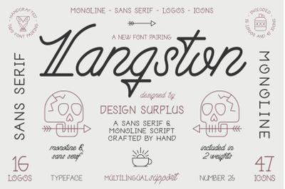 Langston Script + Sans
