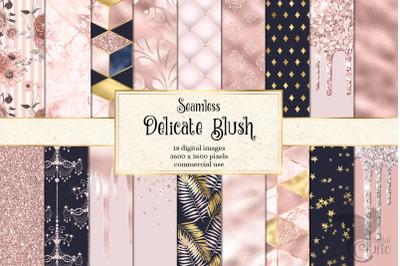 Delicate Blush Digital Paper