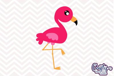Flamingo SVG, Flamingo Cut File, Flamingo Clipart