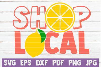 Shop Local SVG Cut File