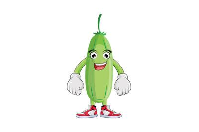 Bilimbi Smiling Fruit Cartoon Character