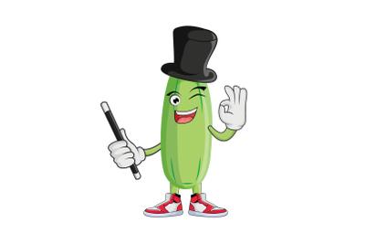 Bilimbi Magician Fruit Cartoon Character