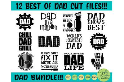 Dad Svg Bundle, Dad Life Svg, Father's Day Svg