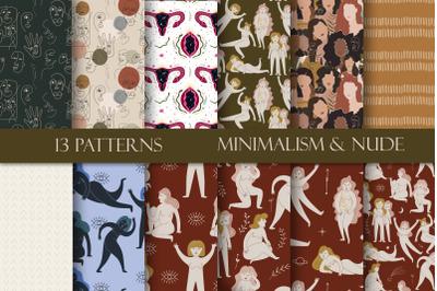 Patterns. Minimalism & Nude
