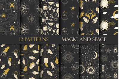 Patterns. Magic and space